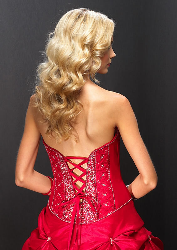 Anyone had a Button Back dress Changed to Corset Back