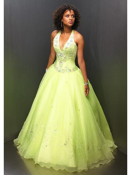 halter sweet sixteen dress