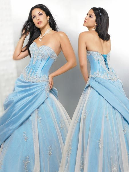 corset quinceanera dress