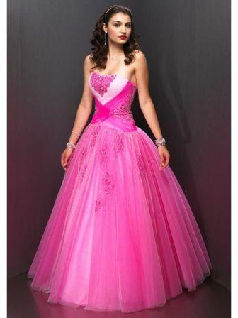 pink junior pageant dress