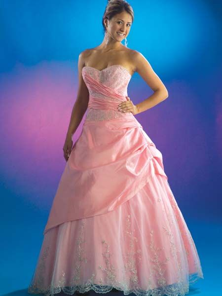 Draped Quinceanera Dresses