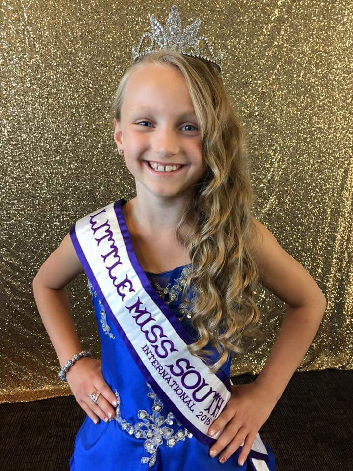 Little Miss SD international 2015