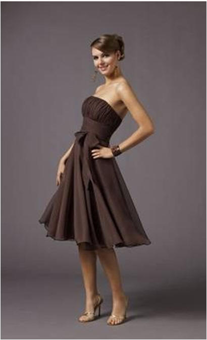 Cheap Fall Brown Dresses brown short dresses