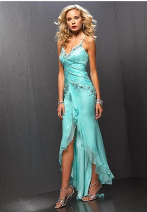 A perfect sexy womens evening dress.