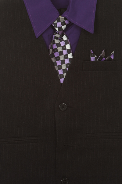 purple 4 piece shirt set