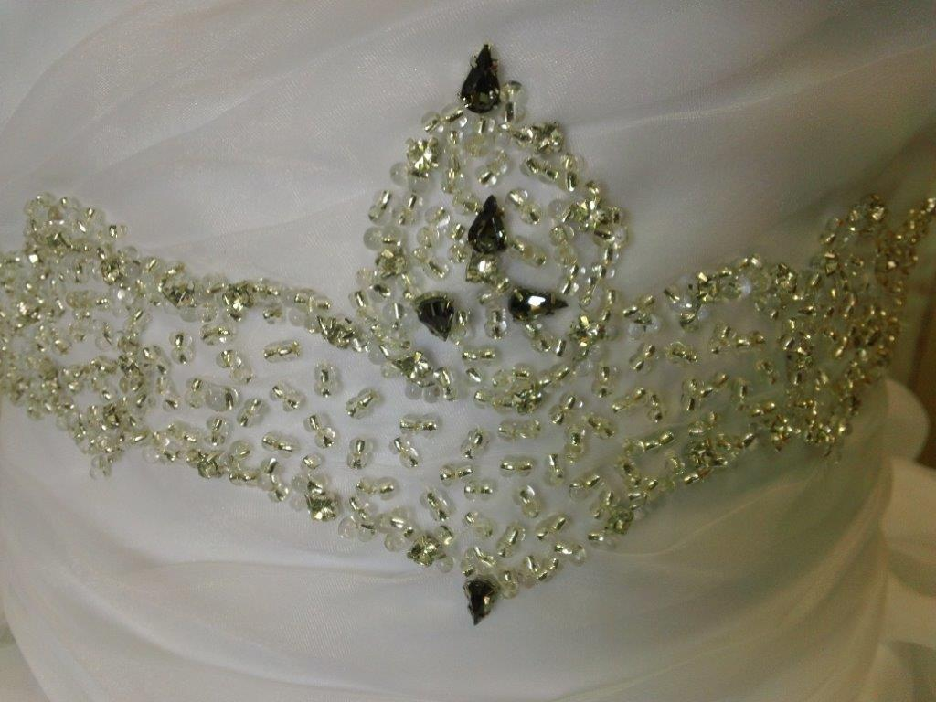 Princess wedding gowns for your 2 year old flower girl beaded waist flower girl dress ombrellifo Choice Image