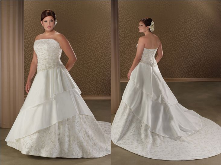 Wedding ball gowns for Plus size wedding dresses kansas city
