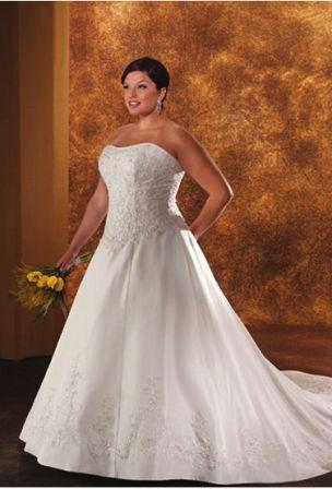 Princess cut wedding dresses plus size | Kica style dress 2018