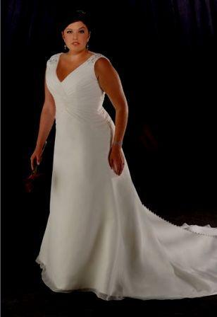 Lovely Large Bride Dresses In Custom Sizes