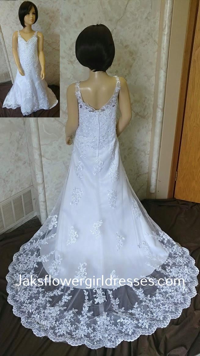 ee6ad7708c6 flower girl dress to match stella york 6142 match my stella york 6142  wedding ...