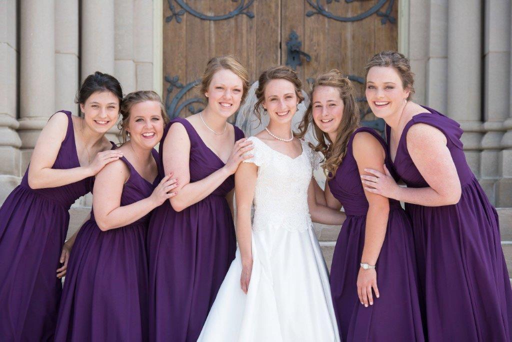 9e2da9b18dbb8 purple chiffon bridesmaid dresses ...