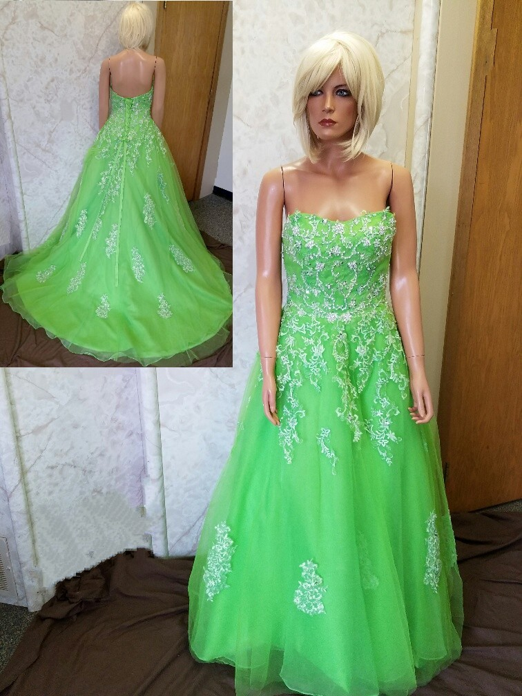Lime Green Wedding Dress Good Dresses