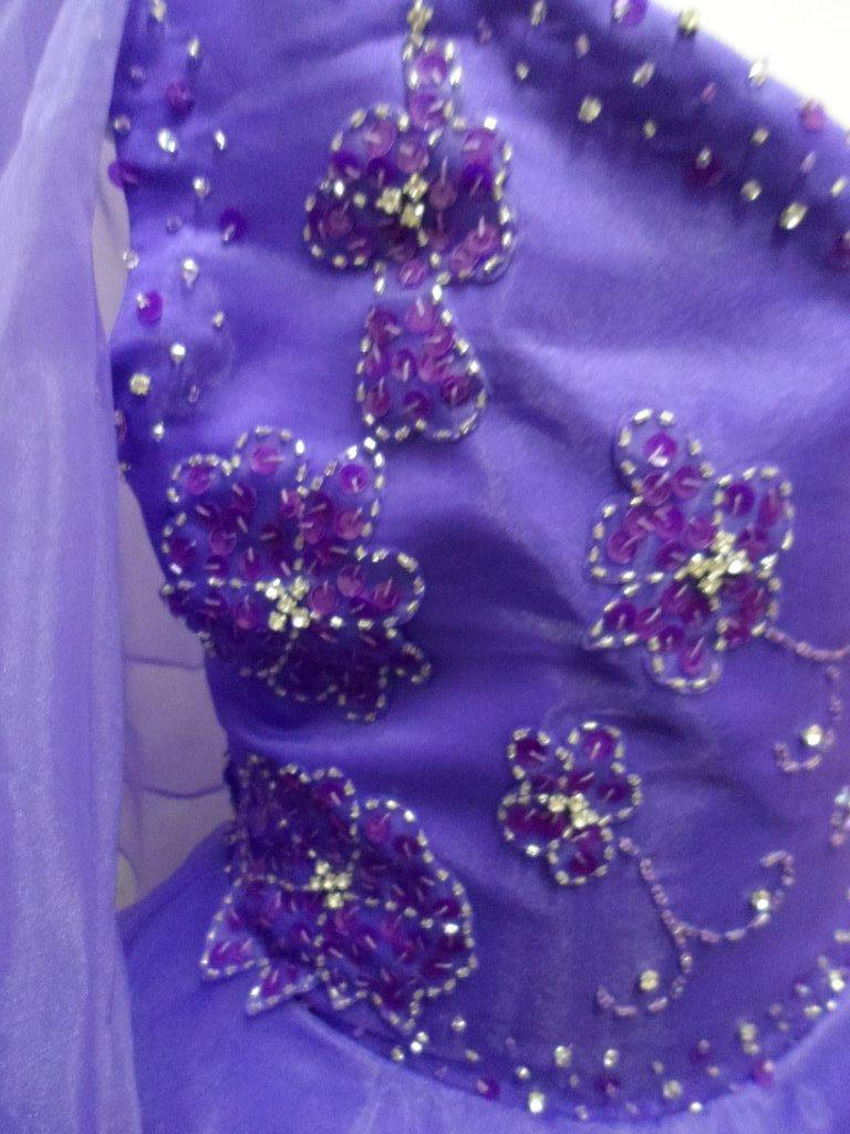 embroidered floral bodice