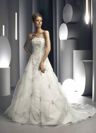 Starburst Wedding Gown