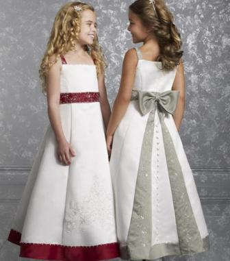 dresses with bow sash