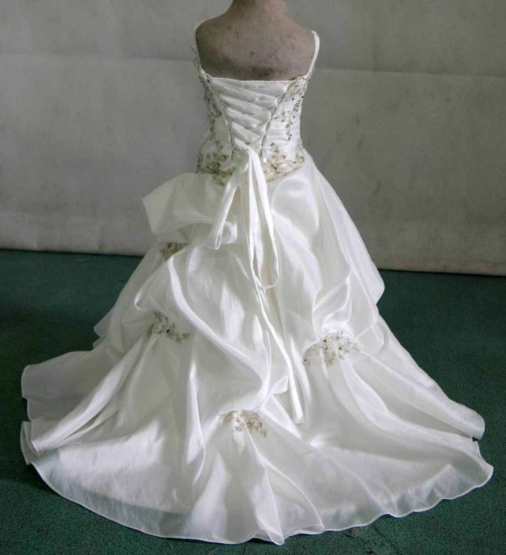 infant baby wedding gown