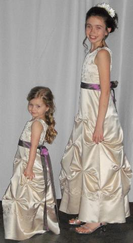 junior bridesmaid dresses or flower girl