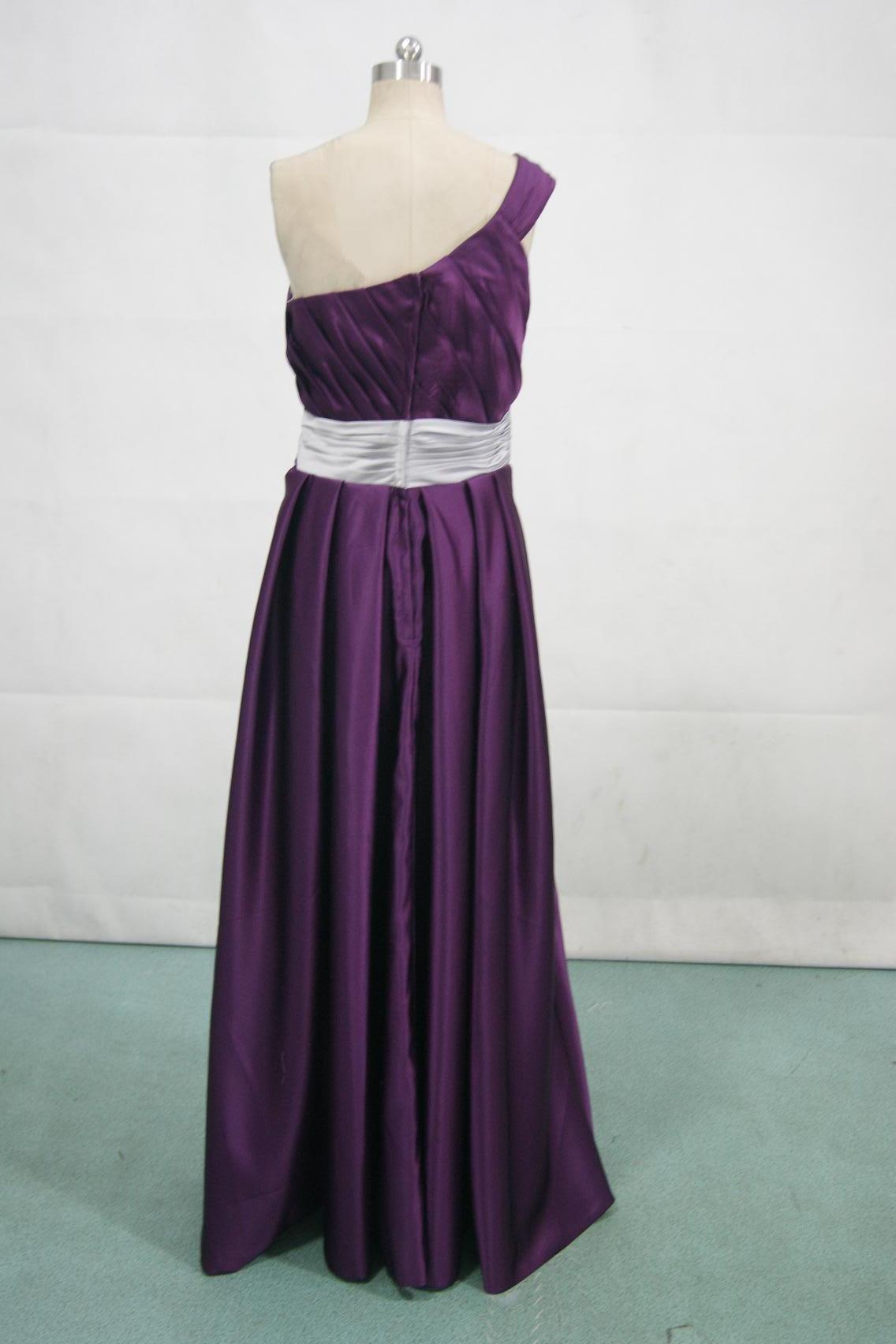 Sheath one shoulder purple bridesmaid dress grape and silver bridesmaid dress ombrellifo Gallery
