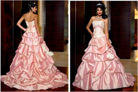 pink pageant dress