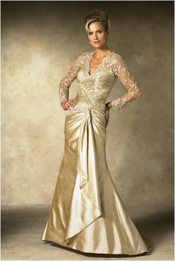 Brides color your wedding for Older brides wedding dresses