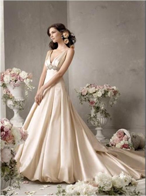 Bridal Bubble Hem Dress