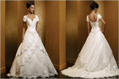corset ball gown wedding dresses