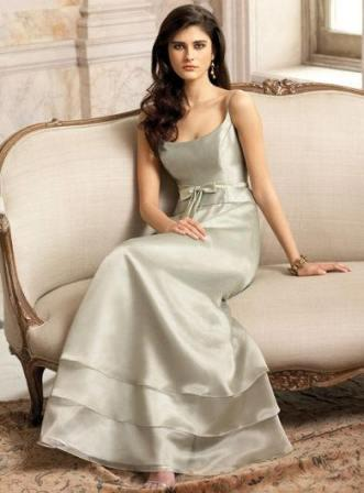 bridesmaid layered dress