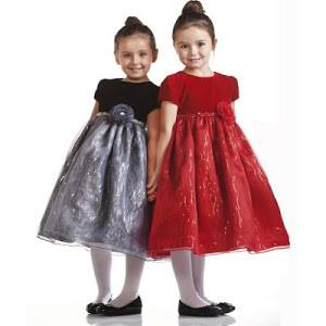 Christmas dresses for girls- toddlers and babies.