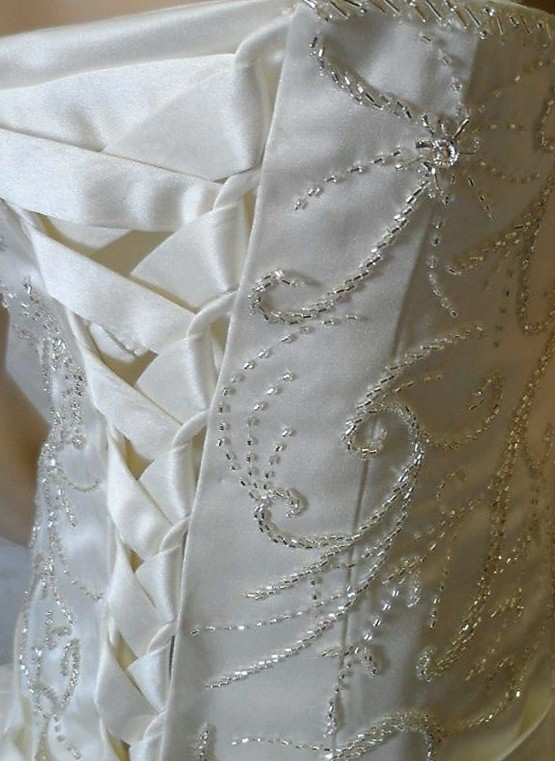 Beading patterns for wedding dresses discount wedding for Wedding dress beading patterns