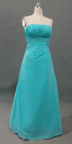 turquoise sheath bridesmaid dress