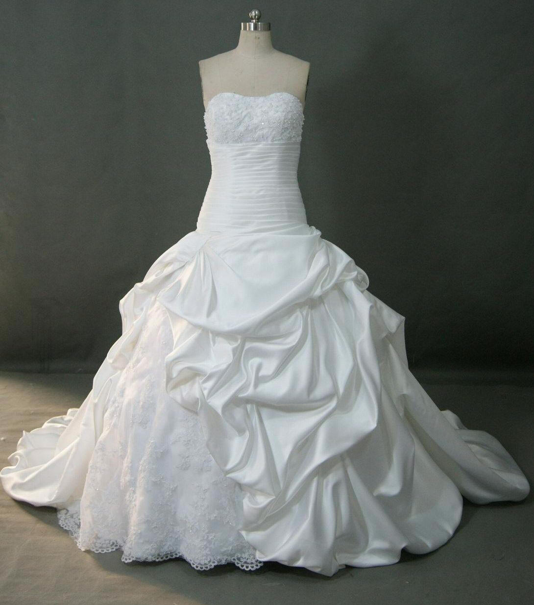 White Wedding Dress Under 500: Wedding Gowns Pick Up Styles