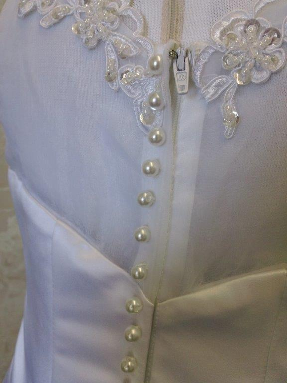 pearls over zipper
