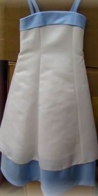white and lavender size 10 dress sale