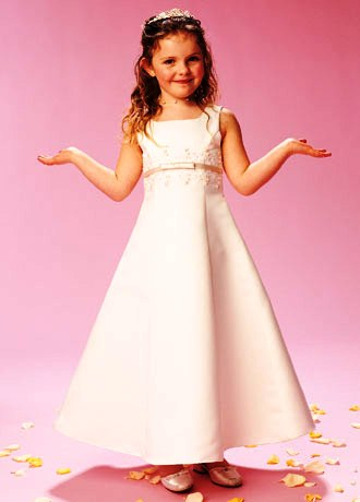 White flower girl dresses $50.00
