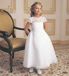 lace pageant dress for children