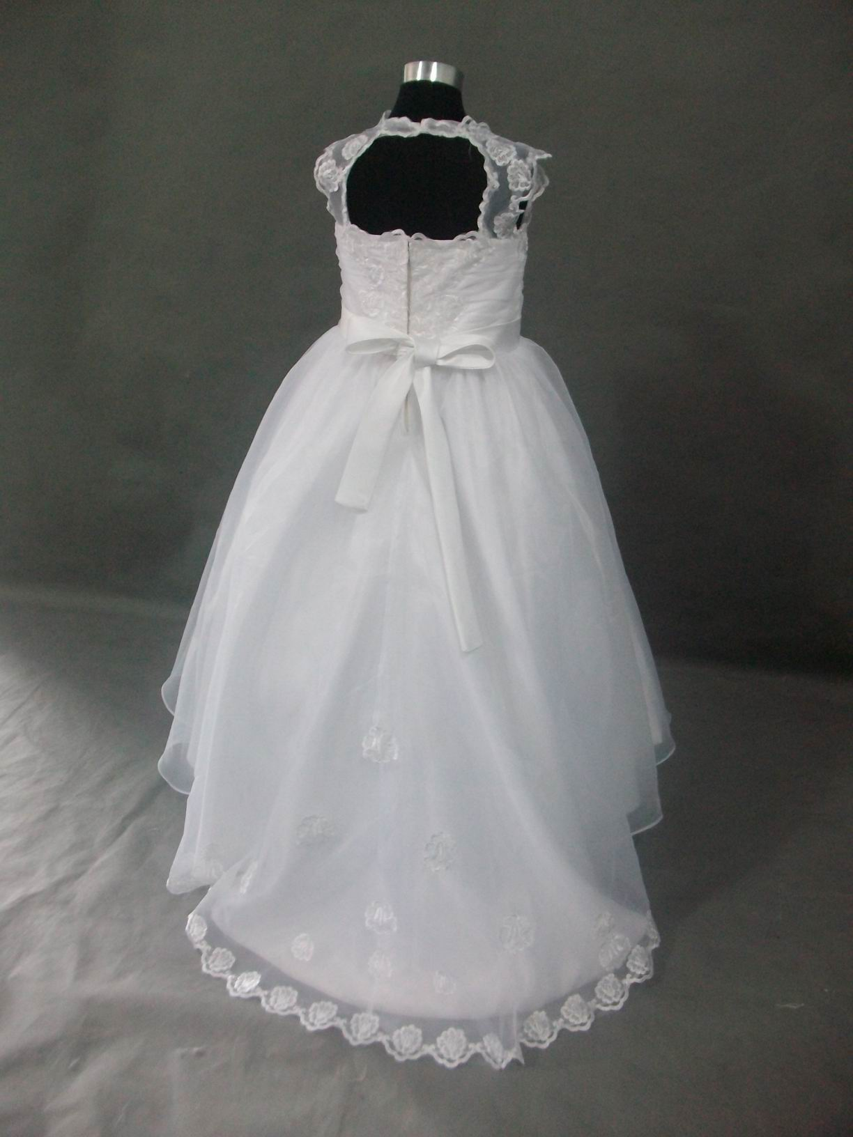 Ivory Junior Bride Dress