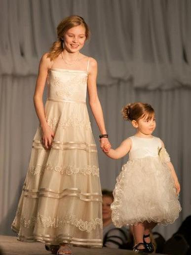Champagne Junior Dress