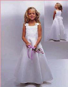 designer communion dress