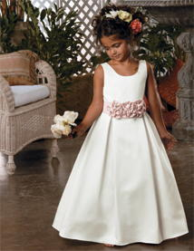 Flower girl dresses with custom changes for your needs.