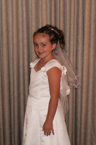 White Communion dresses $40