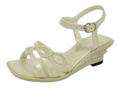 Ivory Dress Sandals For Toddlers ~ Ivory Sandals