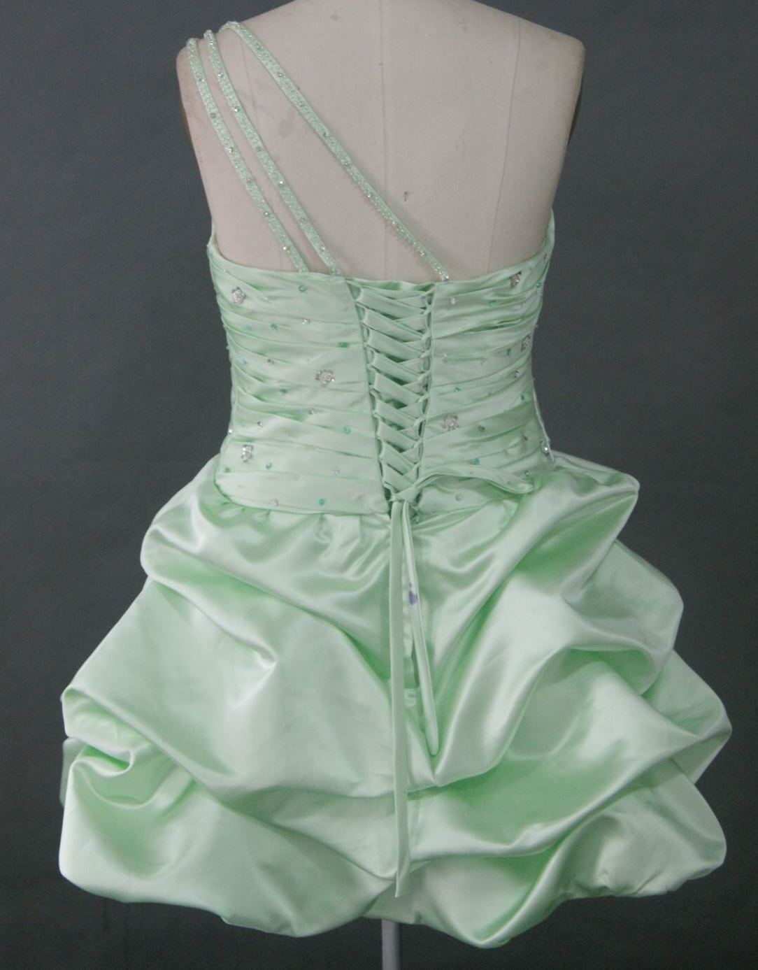 Sequin mini dress with pick ups bridesmaid dress in honeydew green ombrellifo Image collections