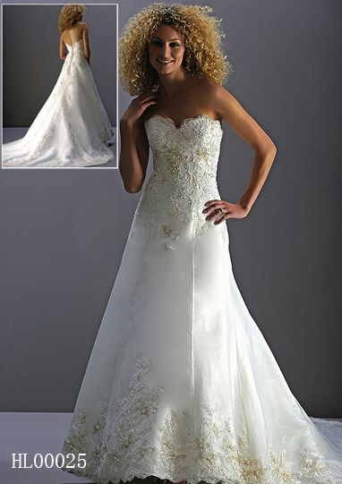 $350 Wedding gowns