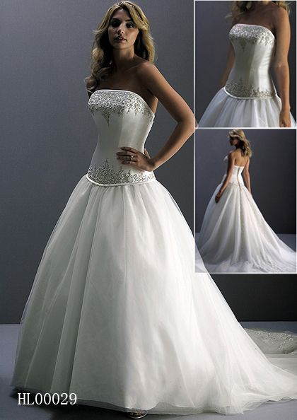 Fitted Wedding Gown