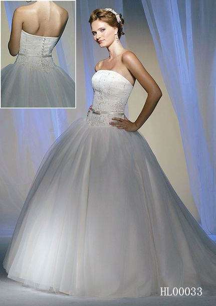cinderella wedding gown or quince dress