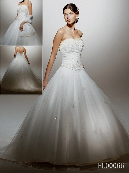 Cinderella Ball Gown Wedding Dress
