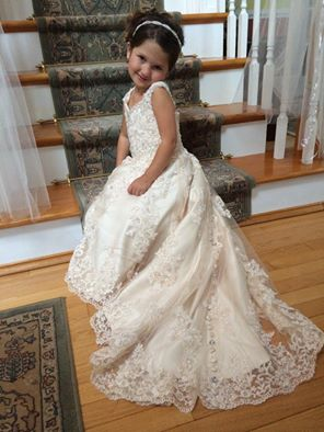 370e50dde1e ... wedding gowns · white flower girl dress · beautiful flower girl ·  stunning miniature ...