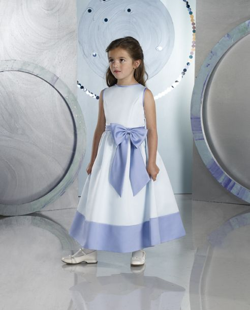 Purple and white flower girl dresses mightylinksfo