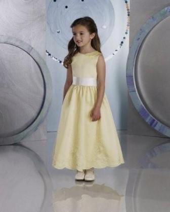 Yellow flower girl dresses mightylinksfo