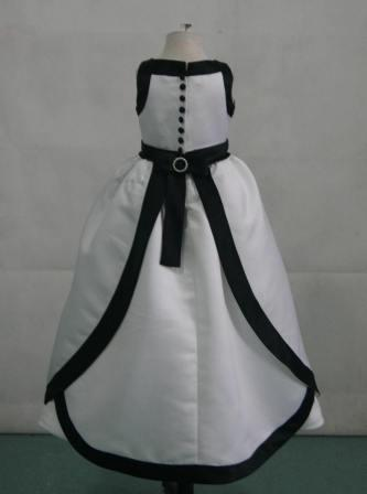 white black halter dress